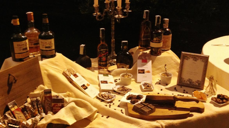 Corner Rum, sigari e cioccolata