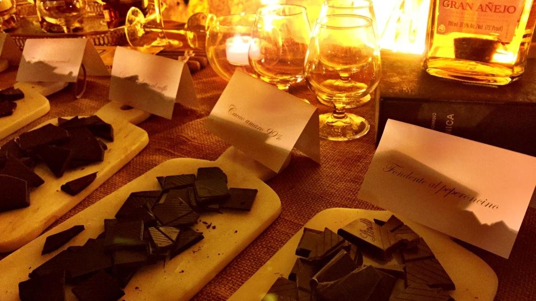 Corner Whisky, cioccolata e sigari